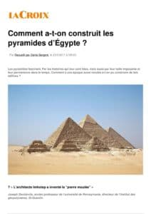 thumbnail of La-Croix-Comment-a-t-on-construit-les-pyramides-d-Egypte